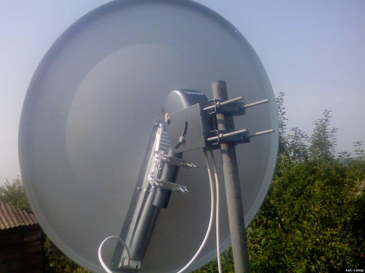 Установка спутниковой антенны в одессе своими руками 99